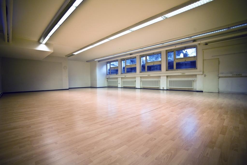 Schauspielschule der Keller/Bewegungsraum
