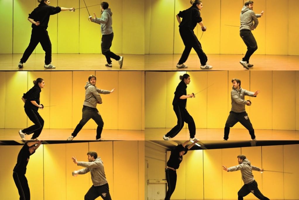 Schauspielschule der Keller/Fechtunterricht