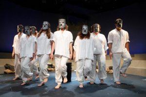 """Premiere von """"Das neue Jerusalem"""" am WBT in Münster mit verschiedensten"""