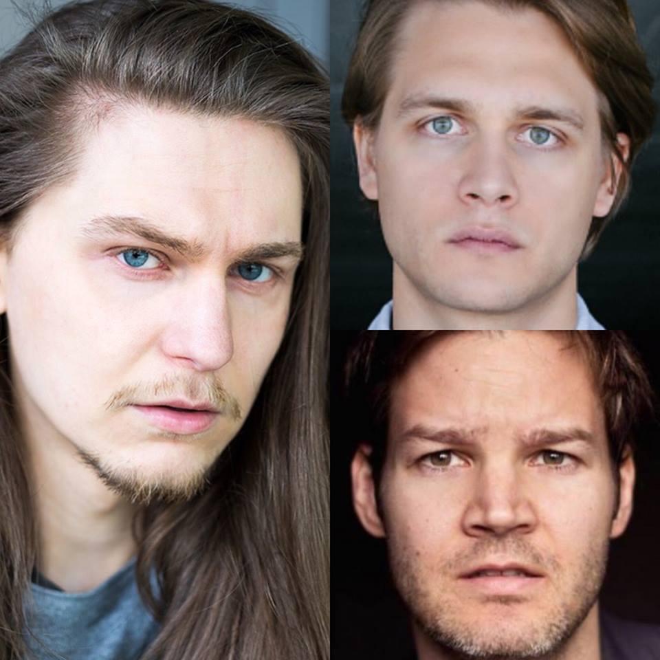 Emil Schwarz, Luan Gummich und Dominik Klingberg drehen Rentnercops