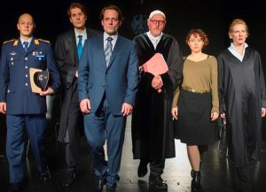 """Premiere """"Terror"""" im Theater der Keller mit Tatjana Poloczek"""