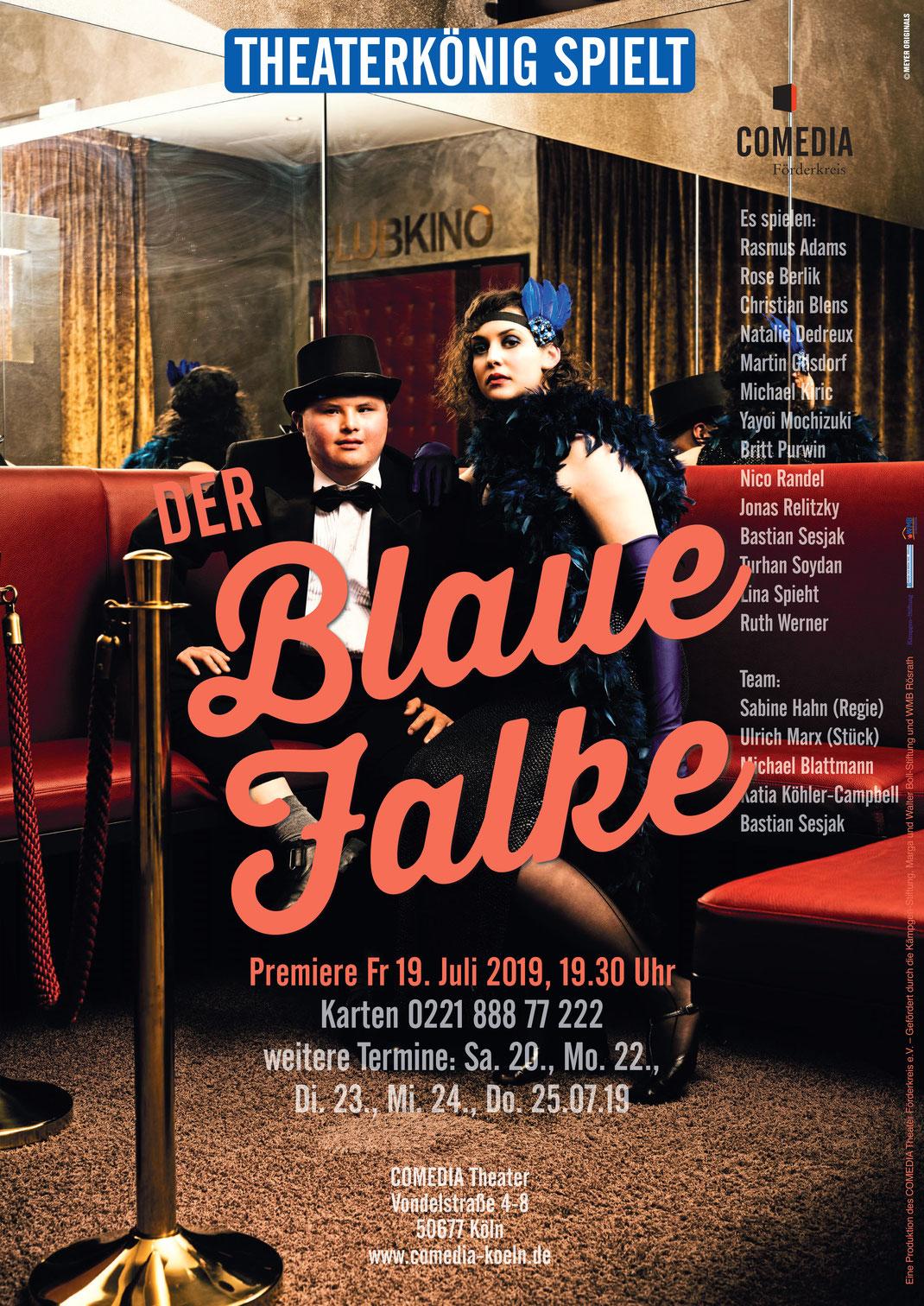 """Premiere """"Der Blaue Falke"""" im Comedia Theater in Köln"""