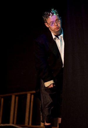 Theaterkönig probt Woyzeck feiert Premiere