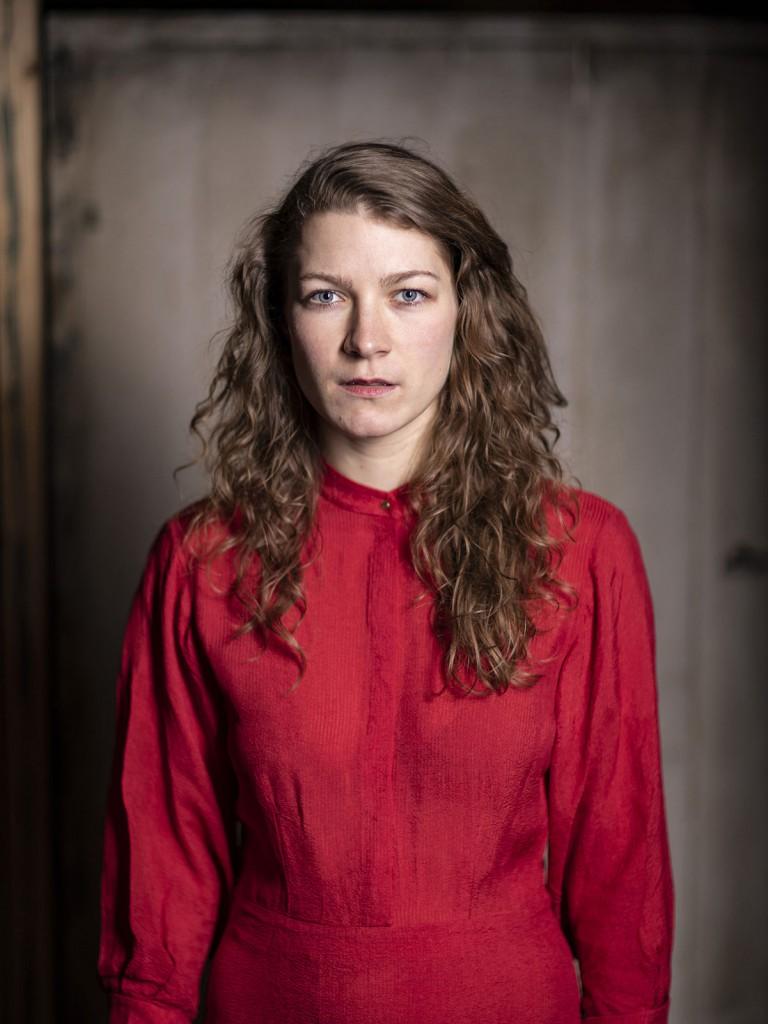 Elena Hollender probt am Schauspiel Köln